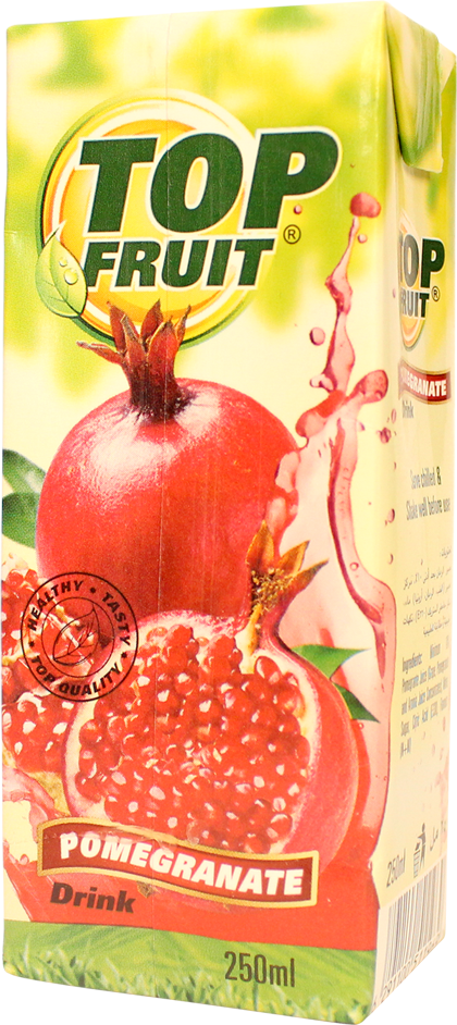 Top Fruit Pomegranate 250 ml