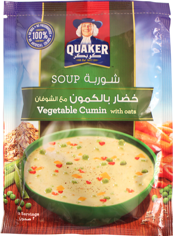 Quaker Soup- Vegetable Cumin With Oats 66g