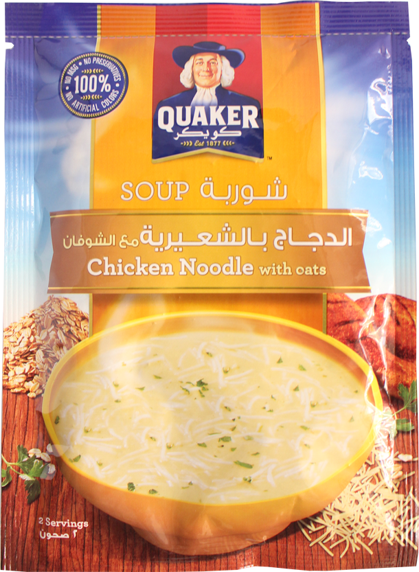 Quaker Soup-Chicken Noodle With Soup 54g