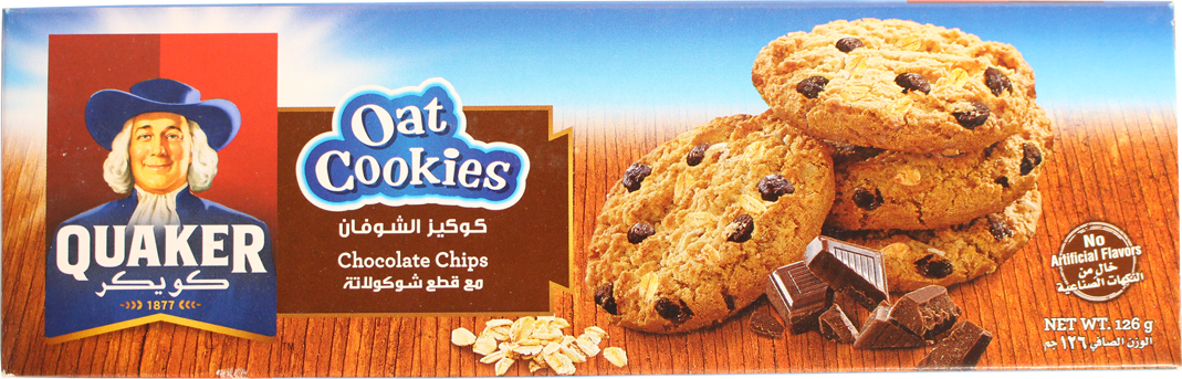 Quaker Chocolate Chips 126g