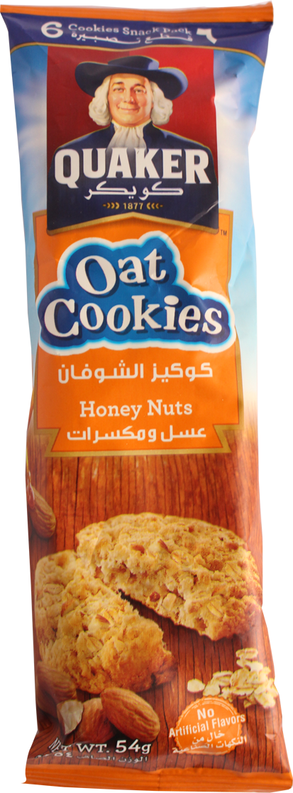 Oat Cookie-Honey And Nuts 54g