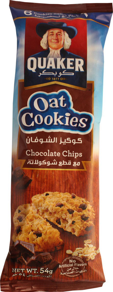 Oat Cookie-Chocolate Chips 54g