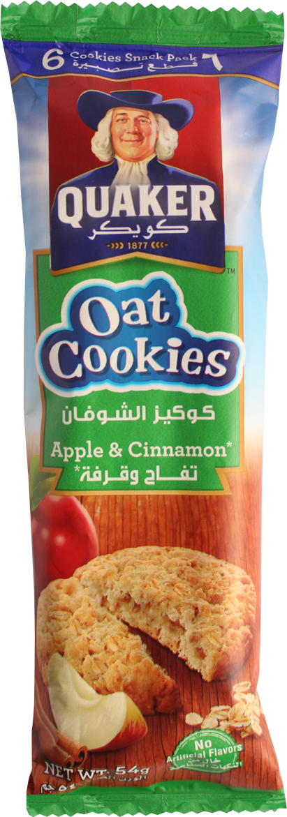 Oat Cookies-Apple And Cinnamon 54g