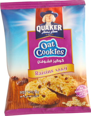 Oat Cookie-Raisins 9g