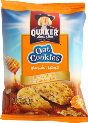 Oat Cookie-Honey And Nuts 9g