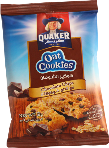 Oat Cookie-Chocolate Chips 9g