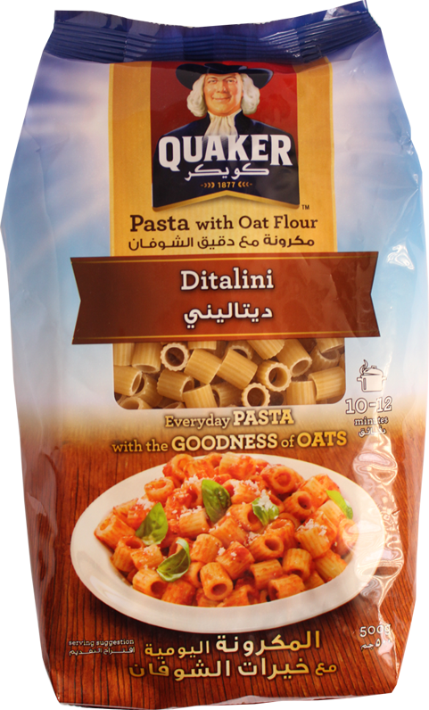 Pasta With Oat Flour-Ditalini 500g