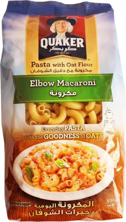 Pasta With Oat Flavour-Elbow Macaroni 500g