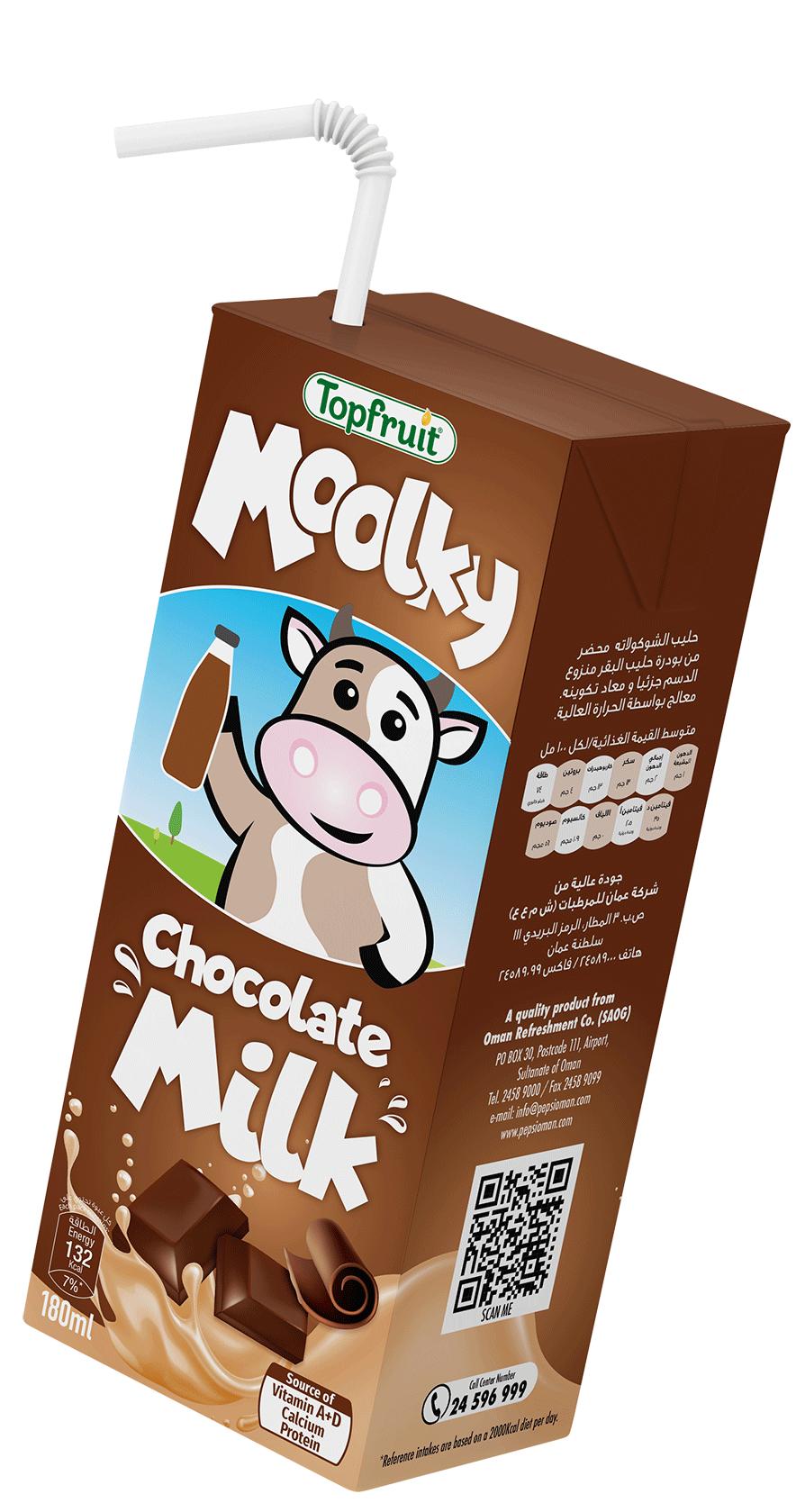 TopFruit Moolky Chocolate Milk 180 ml