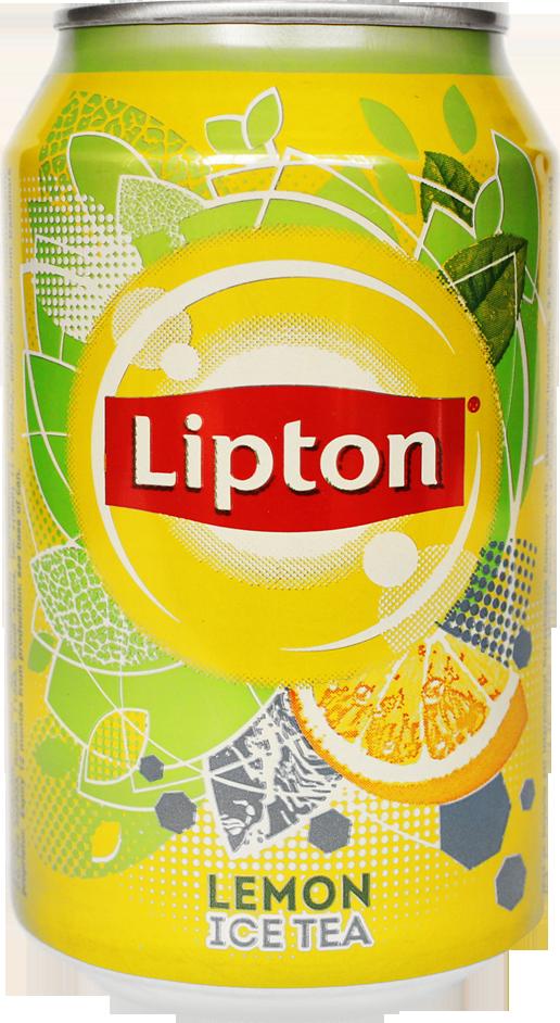Lipton Ice Tea-Lemon 330 ml Can