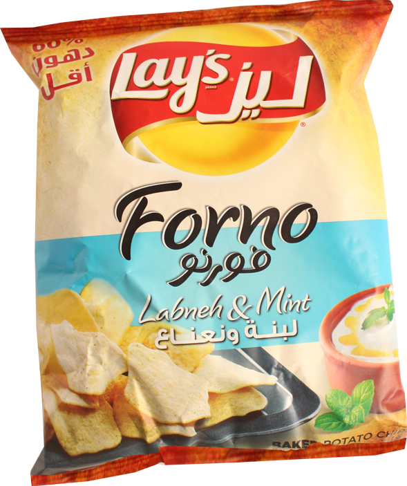 Lays Forno Labneh And Mint  43g