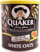 Quaker- Quick Cooking White Oats 500g