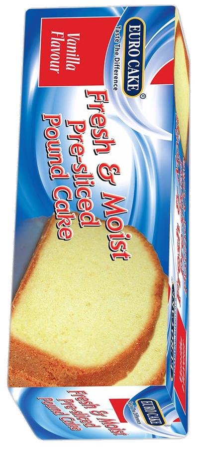 Pre Sliced Pound Cake Vanila