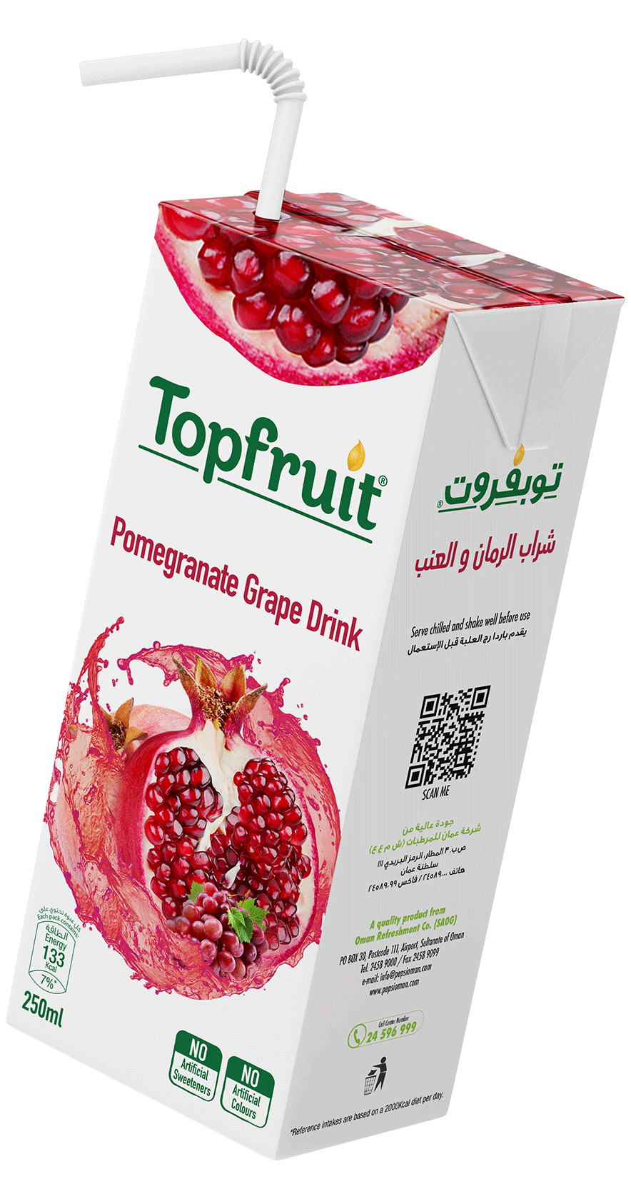 TopFruit Pomegranate 250 ml