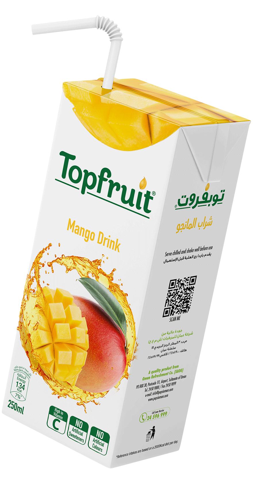 TopFruit Mango 250 ml