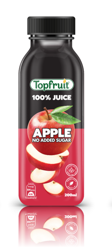 Topfruit 100% Apple No Added Sugar 200ml