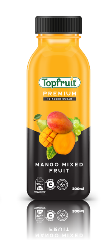 Topfruit Premium Mango No Added Sugar 200ml