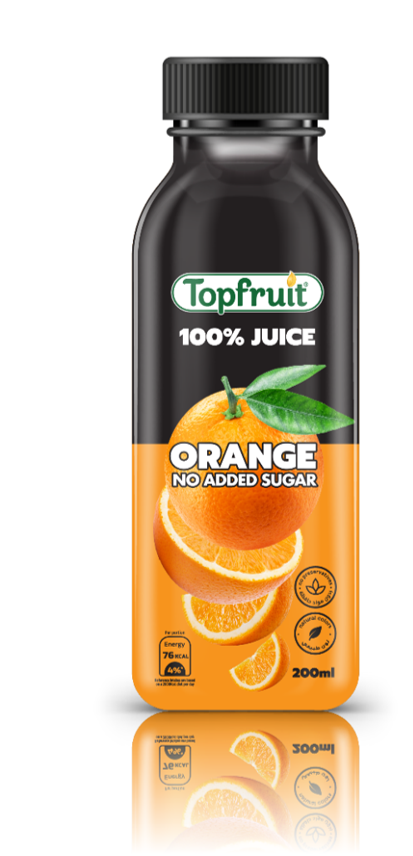 Topfruit 100% Orange No Added Sugar 200ml