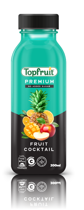 Topfruit Premium Cocktail No Added Sugar 200ml